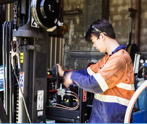 forklift servicing and maintenance
